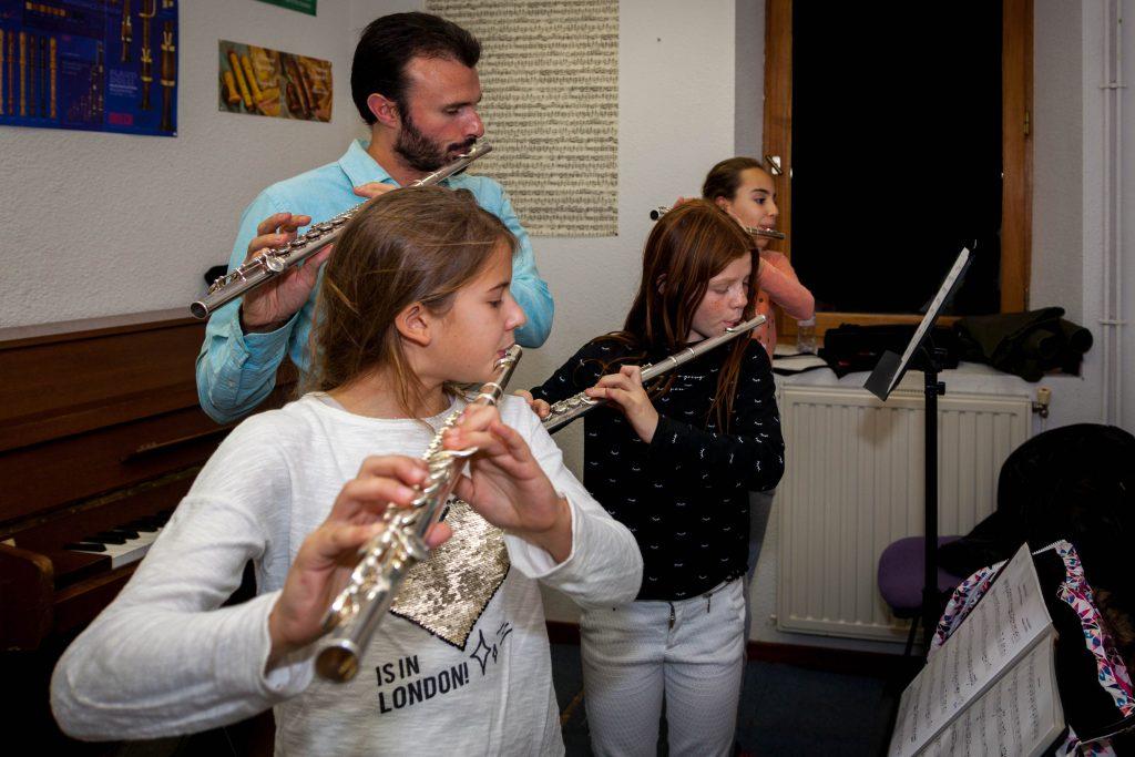 Saxophone / Flûte tréversière